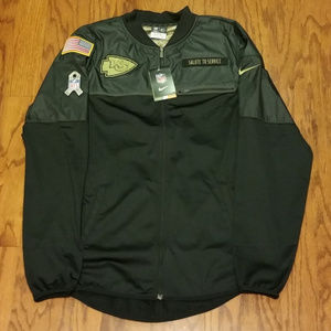 Nike Dri Fit KC Chiefs Salute to Service Jacket